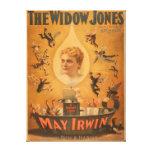 """""""La viuda Jones"""" que atrae a hombres como moscas Lona Estirada Galerias"""