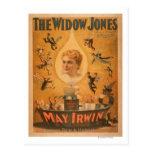"""""""La viuda Jones"""" que atrae a hombres como moscas Postal"""