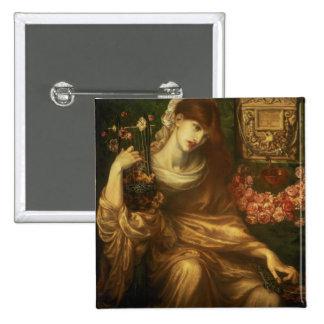 La viuda romana, 1874 (aceite en lona) pin cuadrada 5 cm