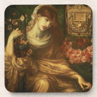 La viuda romana, 1874 (aceite en lona) posavasos de bebidas