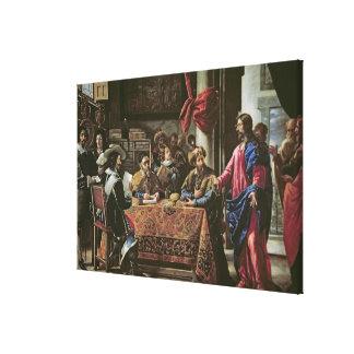 La vocación de St Matthew Lona Envuelta Para Galerías