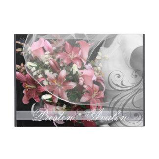La voluta añade caso de Ipad de la foto del boda iPad Mini Fundas