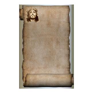 La voluta del Jesucristo, corona de espinas Papeleria
