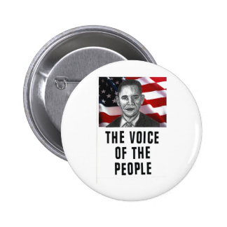 La voz de la gente pin