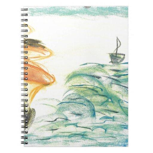 La voz sobre las aguas cuadernos