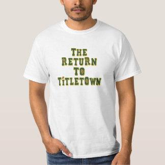 La vuelta a Titletown3 Playeras