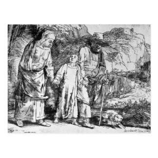 La vuelta de Egipto, o Jesucristo Tarjeta Postal