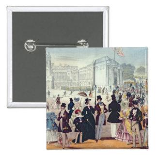 La vuelta de la reina de la Cámara de los lores, 1 Pin Cuadrada 5 Cm