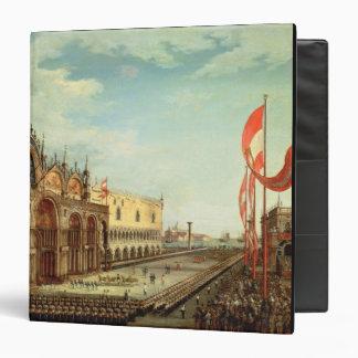 La vuelta de las tropas de St Mark a Venecia