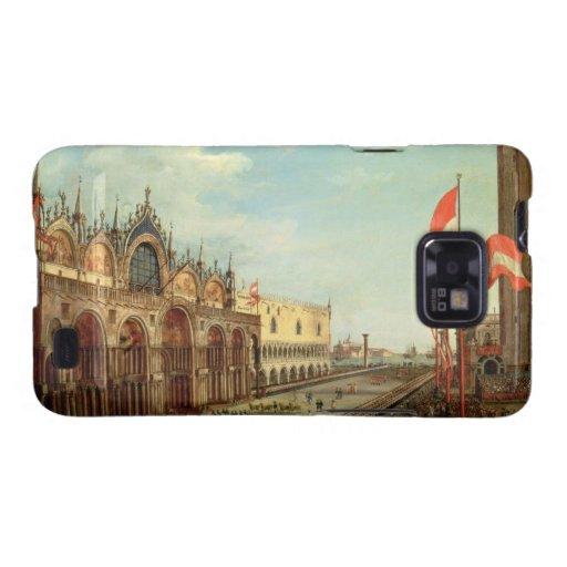 La vuelta de las tropas de St Mark a Venecia Samsung Galaxy SII Carcasas