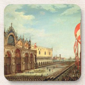 La vuelta de las tropas de St Mark a Venecia Posavasos