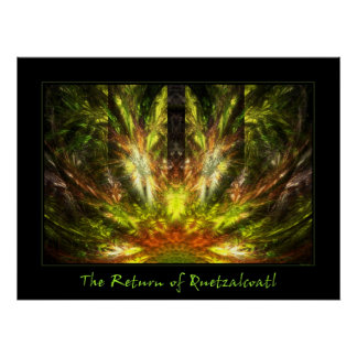 La vuelta de Quetzalcoatl Póster