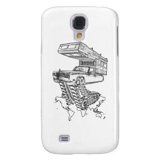 La vuelta del campista contento Rolls en Tracks™ Samsung Galaxy S4 Cover