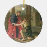 La vuelta del hijo despilfarrador, 1823 (aceite en adornos