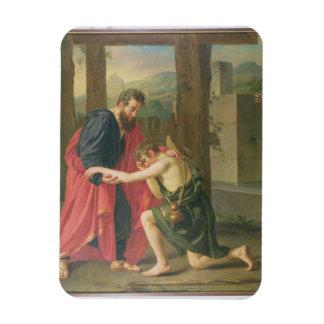 La vuelta del hijo despilfarrador, 1823 (aceite en imanes