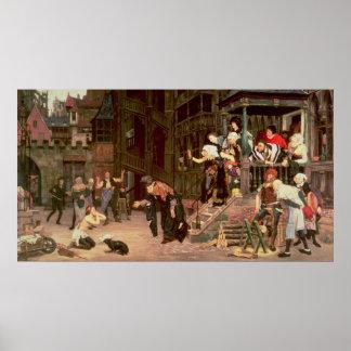 La vuelta del hijo despilfarrador 1862 posters