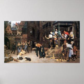 La vuelta del hijo despilfarrador de James Tissot Poster