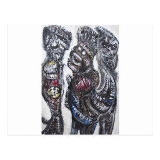 La vuelta del hijo despilfarrador (surrealismo) tarjetas postales