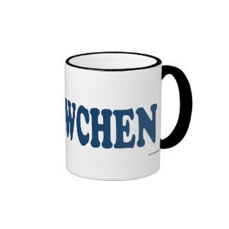 Lã–Wchen Blue Ringer Mug
