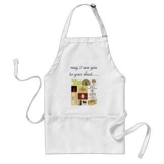la winelabel-inspiración, puede yo coserle a su sh delantales