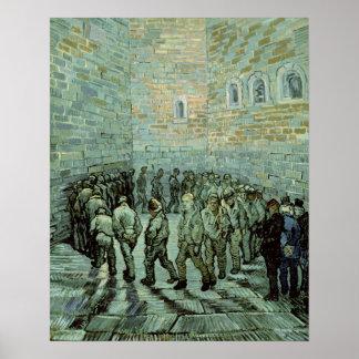 La yarda del ejercicio, o la prisión del Convict,  Póster