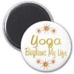 La yoga aclara mi vida imanes para frigoríficos