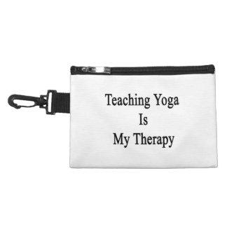 La yoga de enseñanza es mi terapia