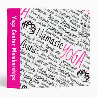 La yoga de Namaste coloca nombres sánscritos de la