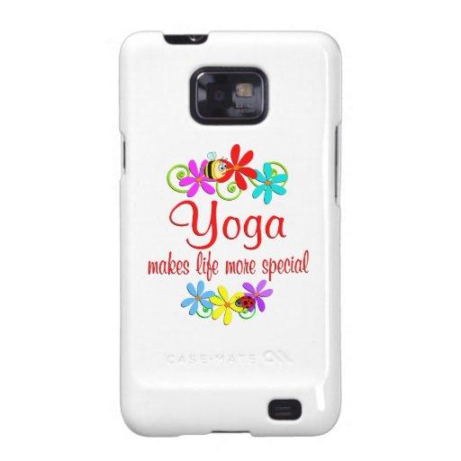 La yoga es especial galaxy s2 carcasas