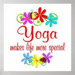 La yoga es especial impresiones