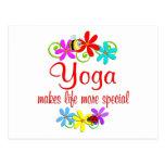 La yoga es especial postal
