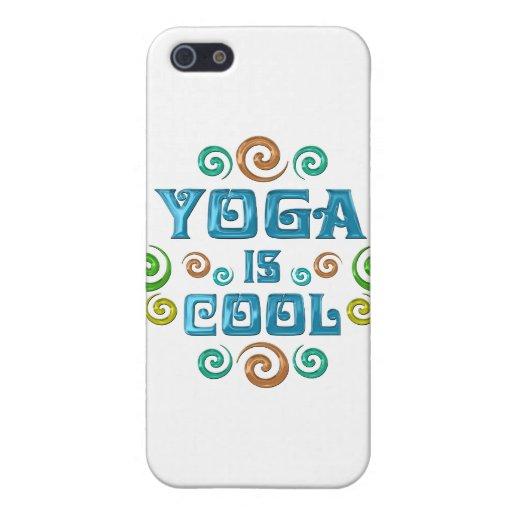 La yoga es fresca iPhone 5 funda