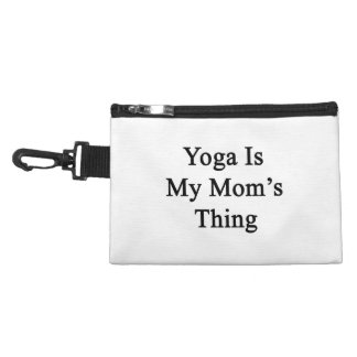 La yoga es la cosa de mi mamá