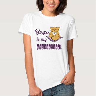 La yoga es mi gato del gatito del zen del playera
