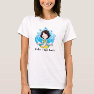 La yoga Farts la camiseta básica de las mujeres,