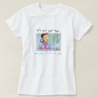 La yoga Farts las camisetas