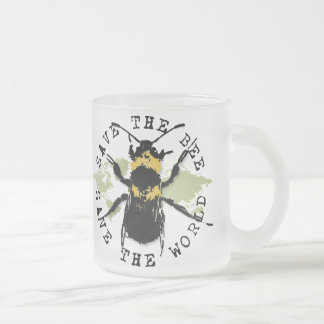 La yoga habla ¡Ahorre la reserva de la abeja… el Tazas