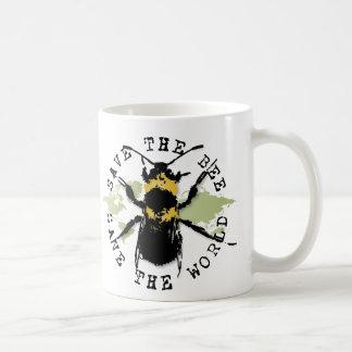 La yoga habla: ¡Ahorre la reserva de la abeja… el Taza De Café