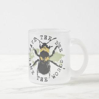 La yoga habla: ¡Ahorre la reserva de la abeja… el Taza De Café Esmerilada