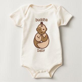 La yoga habla al bebé: Bebé de Buda de la carne Enterito