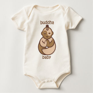 La yoga habla al bebé: Bebé de Buda de la carne Mamelucos