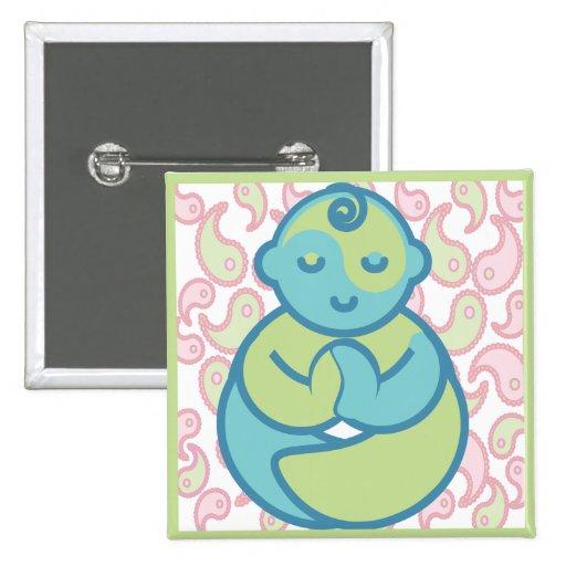La yoga habla al bebé: Bebé de la yoga de Paisley Pins