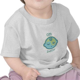 La yoga habla al bebé: Bebé de OM Camiseta
