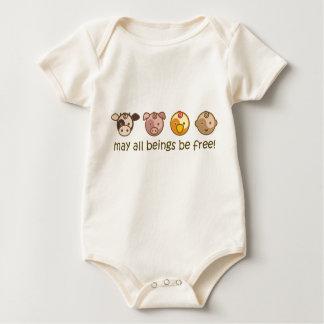 La yoga habla al bebé: Mayo todos los seres estén Body Para Bebé