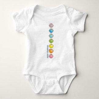 La yoga habla al bebé: Todo el bebé Chakras Remera