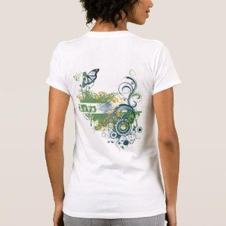 La yoga habla: Amor verde Chakra Tee Shirts