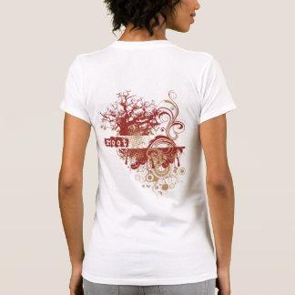 La yoga habla: Raíz roja Chakra Tshirt