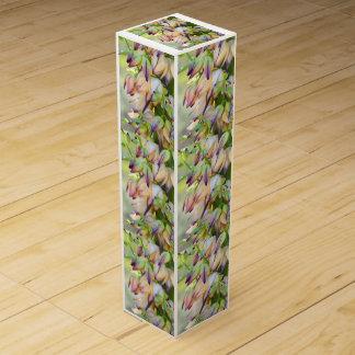 la yuca florece la caja de regalo del vino cajas para vino