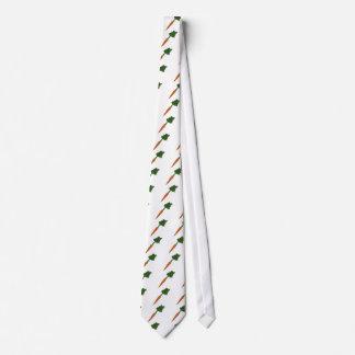 La zanahoria humilde corbatas personalizadas