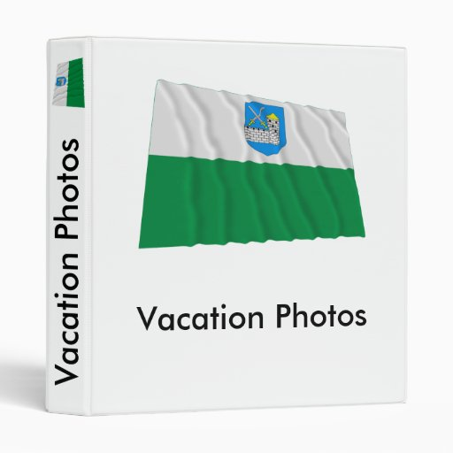 Lääne-Viru Waving Flag Binders